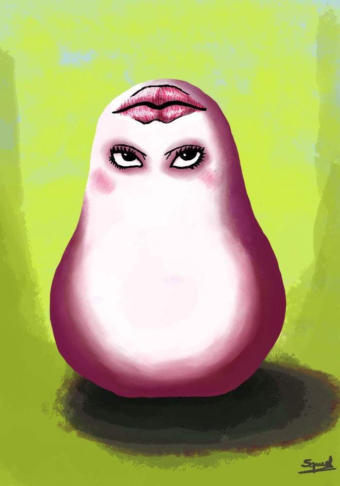 Sexy Marshmallon - Yu-Gi-Oh! by Ezequielmercado