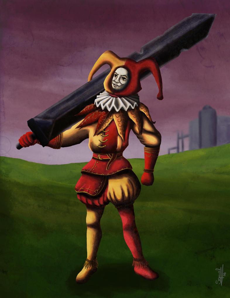 Jester - Dark Souls 2 by Ezequielmercado