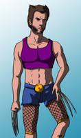 Wolverine / Degenerando superheroes by Ezequielmercado