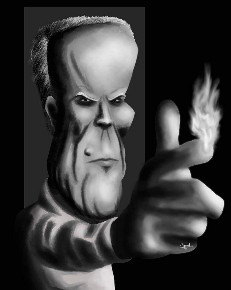 Clint Eastwood caricature by Ezequielmercado