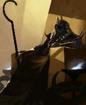 Nyarlathotep, The Black Pharaoh