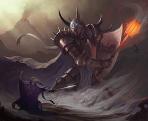 Morgoth vs Fingolfin
