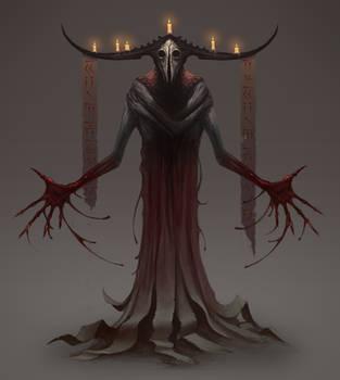Demon Priest by MorkarDFC