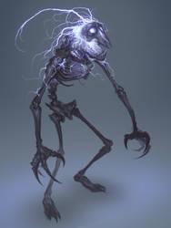 Lightning Skeleton by MorkarDFC
