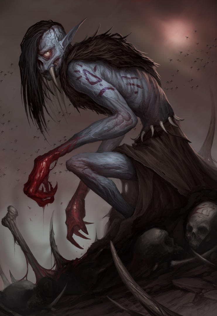 Prehistoric Vampire by MorkarDFC