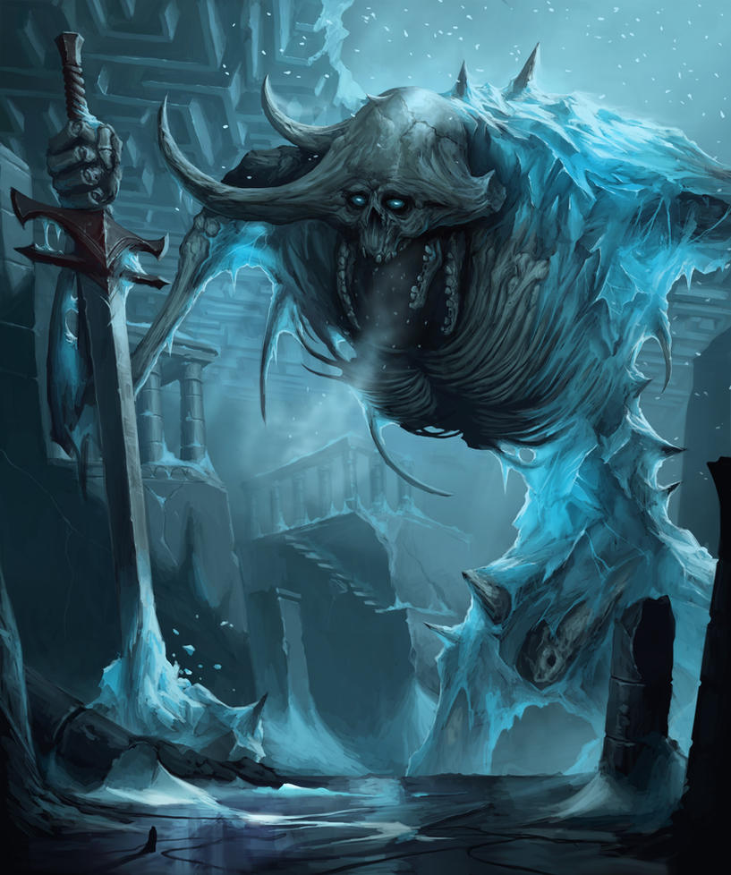 Sithhud, the Frozen Lord - Pathfinder Demon by MorkarDFC ...