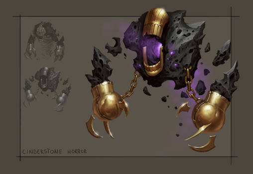 Cinderstone Golem - Ancient civilization challenge