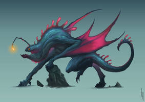 Dragon of the Depths CDC by MorkarDFC