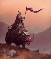 Warpig Knight by MorkarDFC