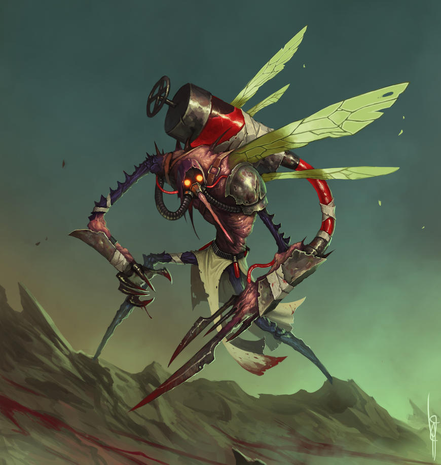 Mosquito Specialist by MorkarDFC