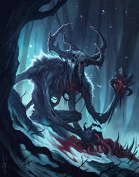 The Wendigo by MorkarDFC