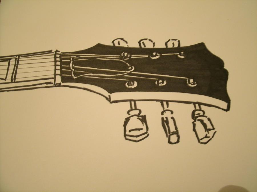 Guitar Tumblr Drawing Guitar Drawing Tumblr Life