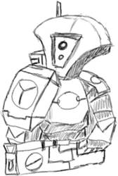 Tau Rough Sketch by ArbonGenre