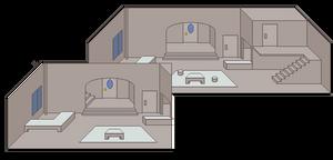 Grey City - Set Design for Star-Spangled Girl