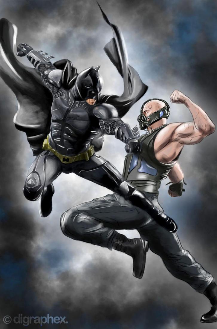 The Dark Knight Rises by arhumn