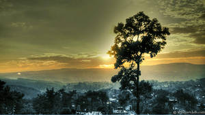 Shillong view from road HDR by abhijeetdeb