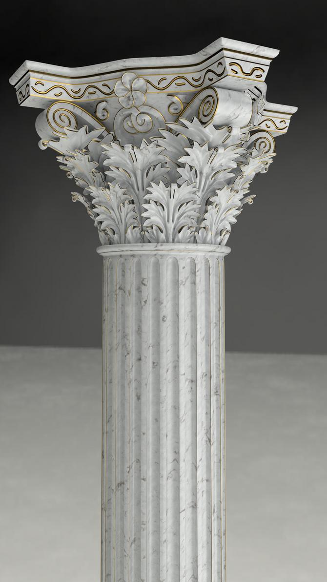 Column by Okmanu