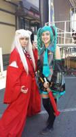 Dragon Festival! Miku and Inuyasha by roxaslawliet
