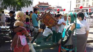 Dragon Festival! Tiny Tina and Miku by roxaslawliet
