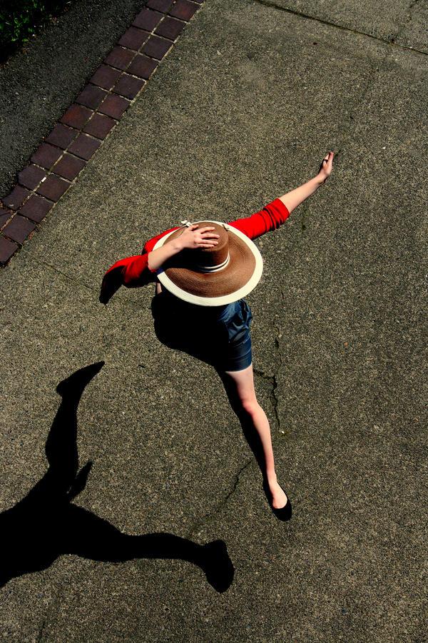 jumping lady by kellyanne000