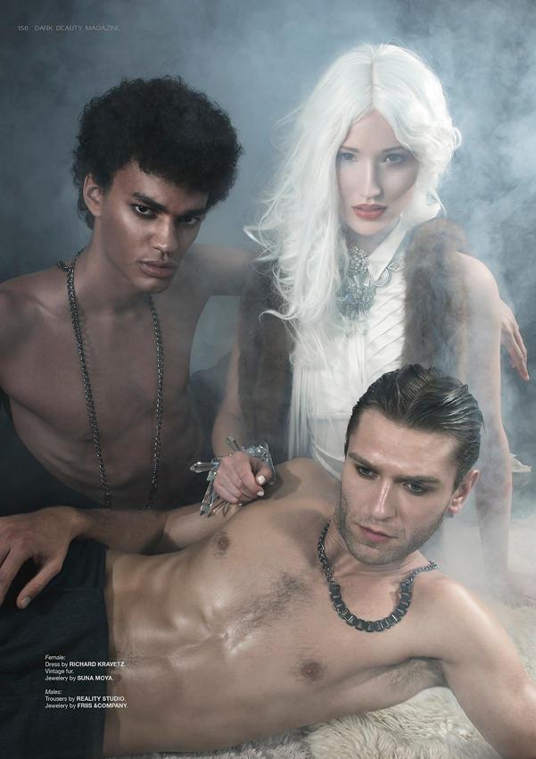 Torn I for Dark Beauty Magazine