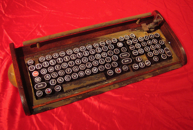 Rusty Old Keyboard by woodguy32