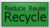 Recycle Stamp by littlemisssunshine11