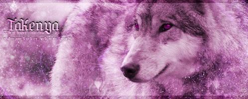 Wolf Signature#2 by BiohazardXxAnime