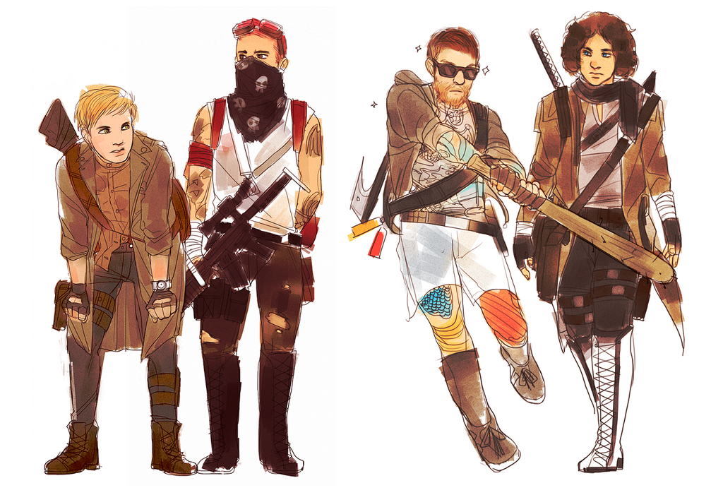 fall out boy post apocalyptic by liberandam