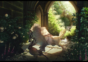 Comm: There are ruins deep in the woods