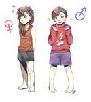 Gravity Falls genderbending