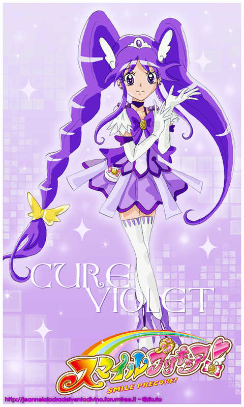 Smile Pretty Cure Cure Violet By Ikuto90 On DeviantArt