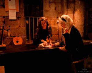 Sabrina Spellman and Miss Wardwell