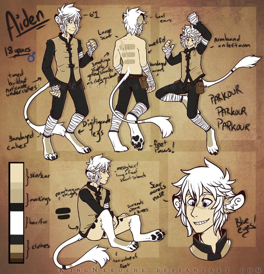 Aiden. [UPDATED] by KingNeroche