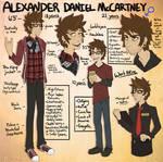 Alexander Daniel McCartney.