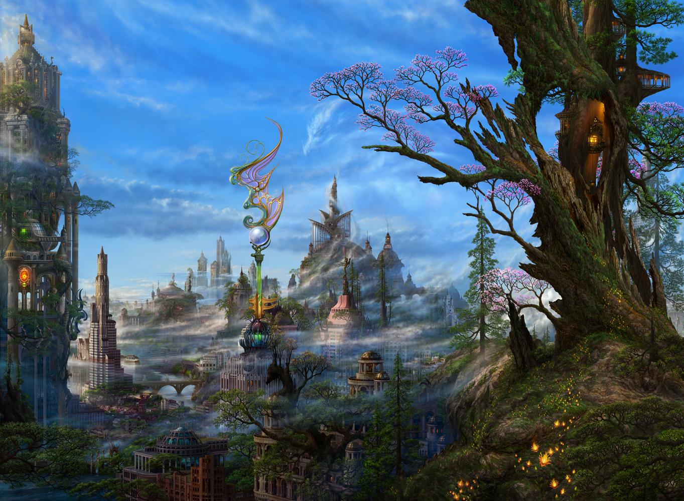 magical fantasy landscapes landscape - photo #20