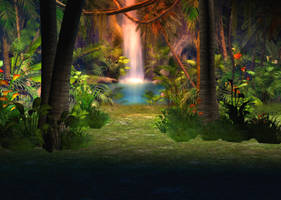 Jungle Background by Lil-Mz
