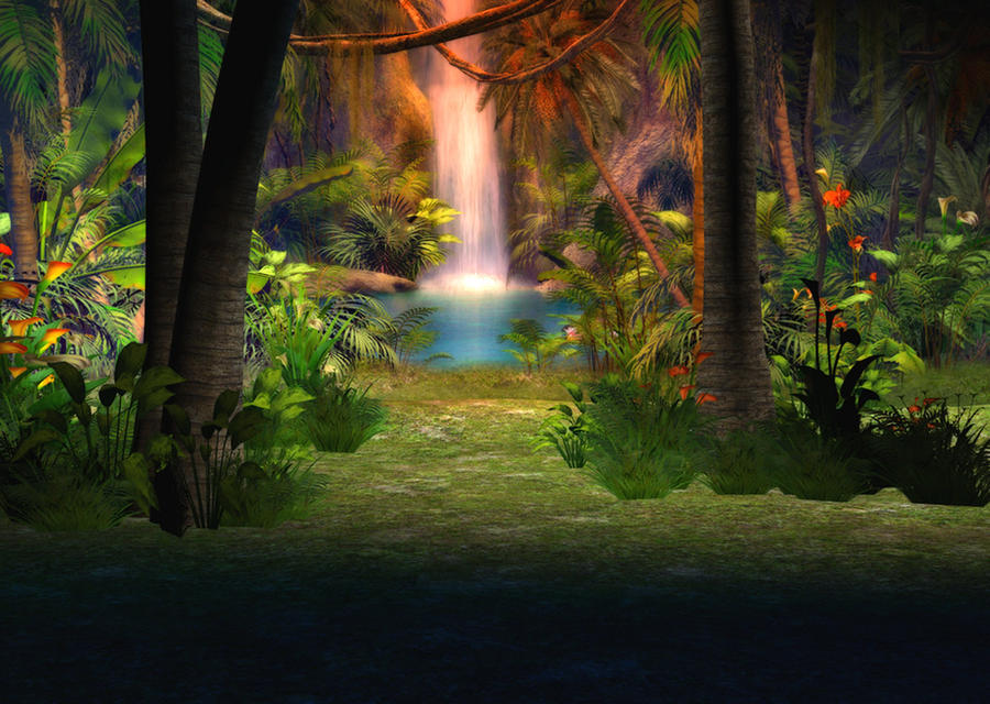 wallpaper jungle. Jungle Background by ~Lil-Mz
