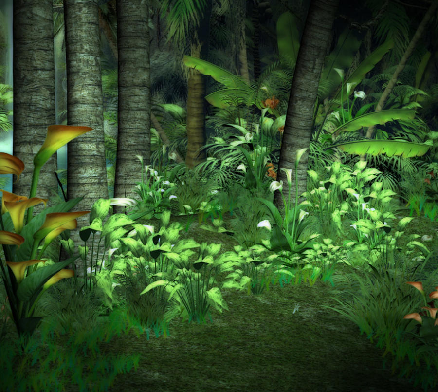 Jungle Floor Background By Lil Mz ...