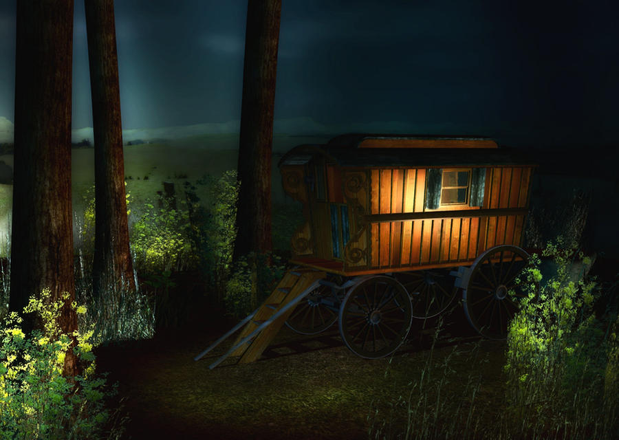 Gypsy Camp Background by Lil-Mz on DeviantArt
