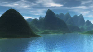 Lake Landscape 6 Background