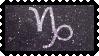 Zodiac Stamp: Capricorn by lesserpandas