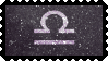 Zodiac Stamp: Libra by lesserpandas
