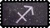 Zodiac Stamp: Sagittarius by lesserpandas