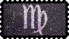 Zodiac Stamp: Virgo by lesserpandas