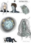 Stargate Atlantis Sketch Dump