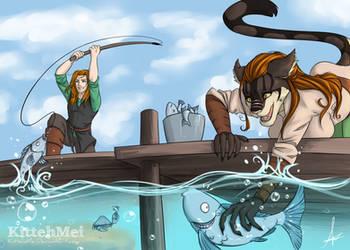 Fishing Day  [C] by KittehMei