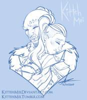 [C] Deep Hug by KittehMei