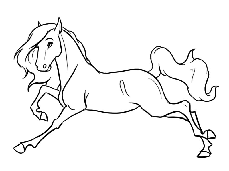 Line Art Horse : The gallery for gt horse drawings to trace