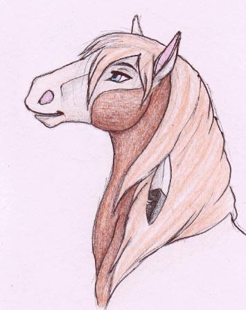 Spirit Stallion Of The Cimarron And Rain Drawings  Spirit Stallion...